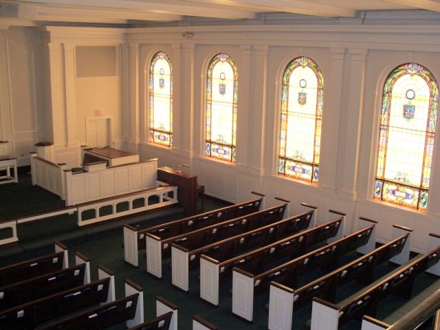 First United Methodist Church Fuquay Varina - Balcony View